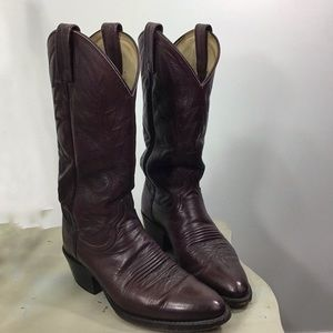Dan Post Leather Cowboy Boot